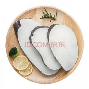 鲜元素 冷冻新西兰银鳕鱼 500g 6-8片 袋装 海鲜水产